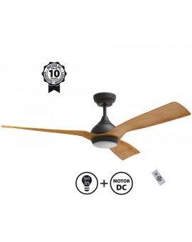 Waterwind LT ventilador de techo con motor DC, con 132 cm de diámetro, ultra silencioso, de Klass Fan